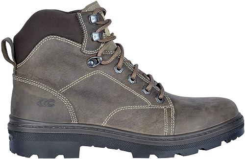 DINGGUANGHE-zapatos Chañol Moda Masculina cómodañoxford Casual Classic Retro con Cordones Zapaños Formales Ropa Formal Zapaños de Vestir (Color   marrón, Tamaño   43 EU)