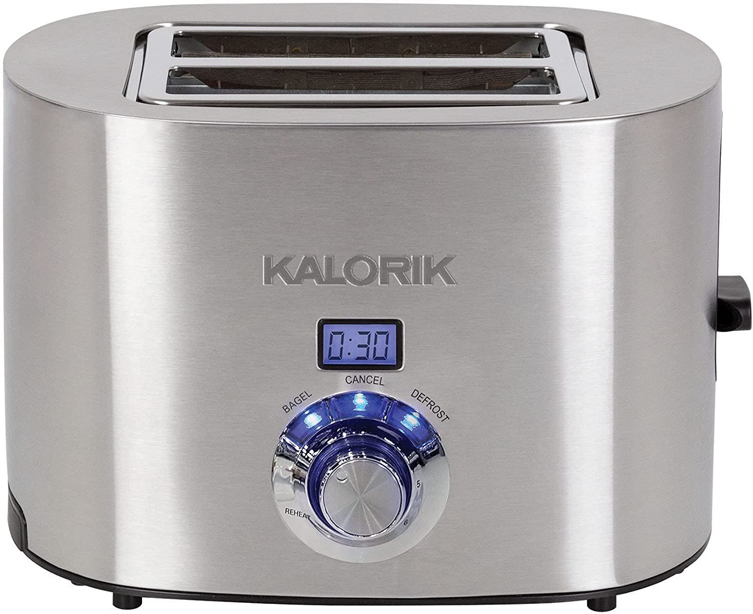 Brookstone Recommendation 40% OFF Cheap Sale Digital 2-Slice Stainless Toaster Steel