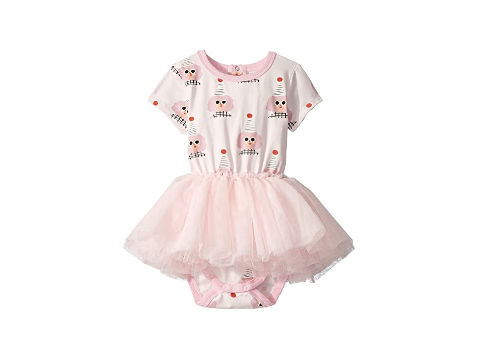 Rock Your Baby Party Girl Short Sleeve Circus Dress (Infant) (Light Pink) Girl
