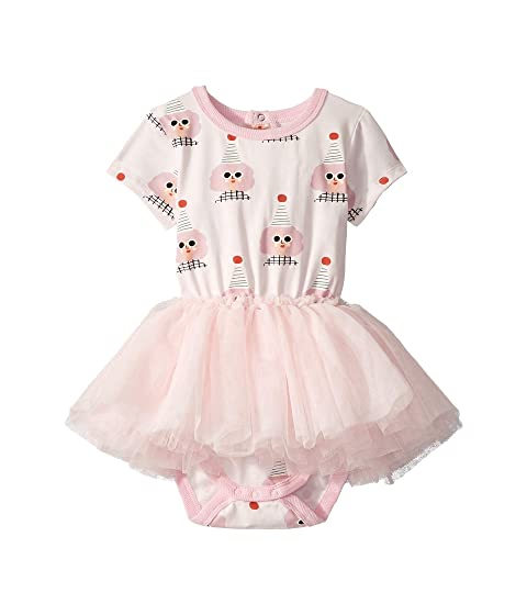 Rock Your Baby Party Girl Short Sleeve Circus Dress (Infant)