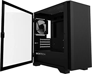 Montech AIR 100 LITE Micro-ATX Tower with Two Silent Fans...
