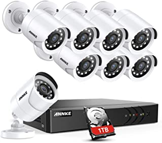 Westshine 8CH 1080P Lite Security Cameras Kit AHD Indoor Outdoor Day Night Vision CCTV Bullet Home Cameras For AHD DVR System NO Hard Drive
