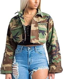 Best camo crop jacket womens Reviews