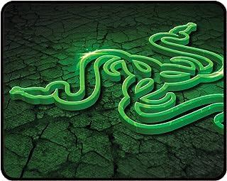 Razer Goliathus Control Fissure Mouse Pad- Black, Green (Image, Black, Green, Universal),Rz02-01070500-r3m2