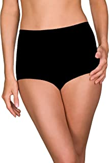 Shadowline Women's Plus-Size Spandex Classic Brief (3-Pack)