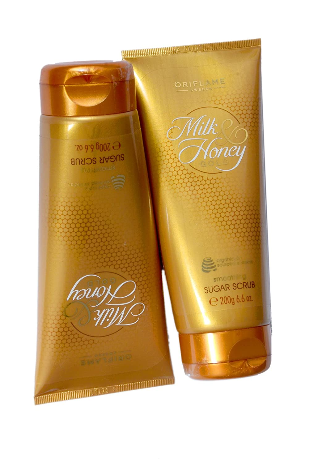 Oriflame Milk & Honey Gold Smoothing Suger Scrub 200g Each Combo of 20