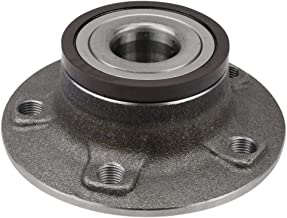 CRS NT930877 New Wheel Bearing Hub Assembly, Rear Left (Driver)/ Right (Passenger) Side, for Audi A4 2010-2016/ A5 2010-15/ A6 2012-16, 2WD