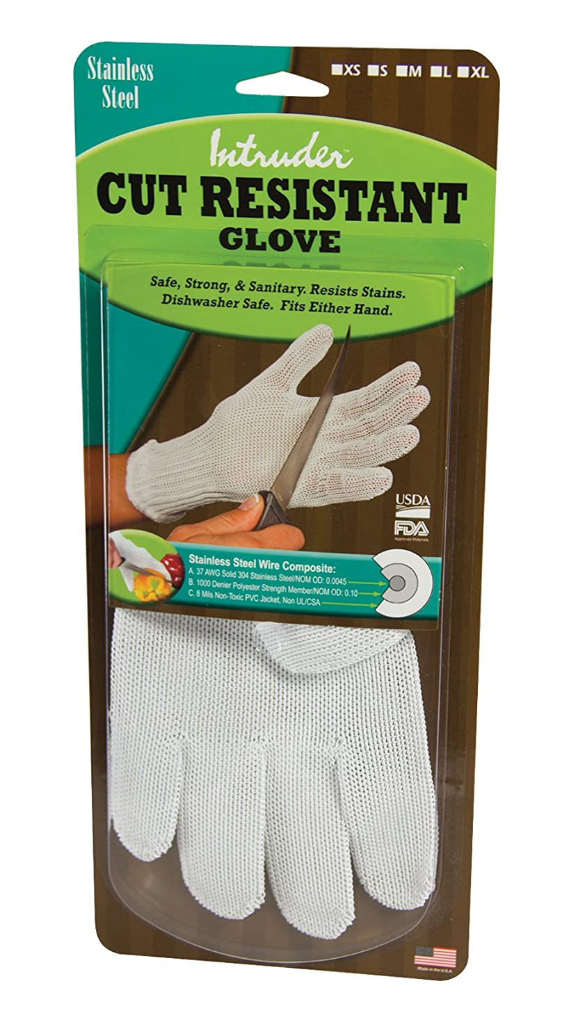 足首標高トラフィックIntruder カット 耐性 メッシュ カッティング 手袋 安全な 手 小