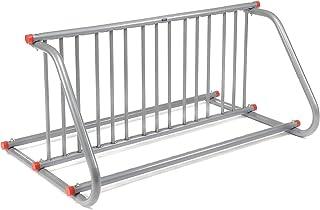 """Global Industrial 59-3/4""""L Grid Bike Rack, Double Sided, Powder Coated Steel, 10-Bike Capacity"""