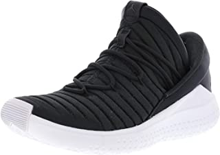 Nike Men's Jordan Flight Luxe Anthracite/Black-White Ankle-High Fabric Basketball Shoe - 11M