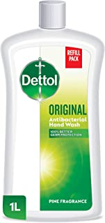 Dettol Original Anti-Bacterial Liquid Hand Wash 1L - Pine
