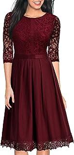 MIUSOL Damen Abendkleid Cocktailkleid Vintage Party Kleid