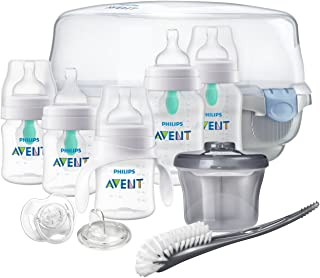 Philips Avent Anti-Colic Baby Bottle with AirFree Vent Gift Set Essentials, SCD398/02