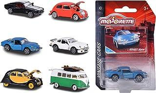 ° Majorette 212052010 ford mustang negro//blanco-vintage 1:64 coche modelo nuevo