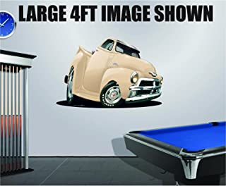 1968-72 Corvette L-88 427 Cartoon Car Art Wall Decal Sticker Graphic Poster NEW