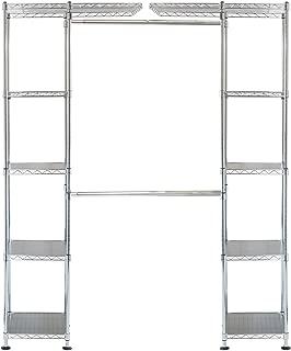 double pole closet height
