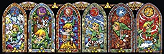 legend of zelda stained glass decal
