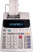 "$43 » Sharp EL-1801V Two-Color Printing Calculator 2.1 Lines/Sec 4"" Black/Red (Renewed)"