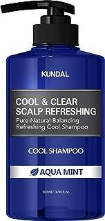 KUNDAL Scalp Refreshing Cool Shampoo (Aqua Mint) 16.9 fl.oz | Pack of 2