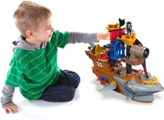 Fisher-Price Imaginext Shark Bite Pirate Ship (Renewed)