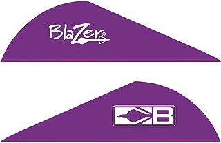 Bohning Blazer Archery Vane (100-Pack), Purple