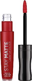 Rimmel London, Stay Matte Liquid Lip Colour, 500 Fire Starter, 5.5 ml - 0.18 fl oz
