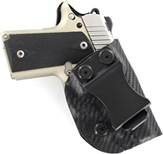Outlaw Holsters: IWB Kydex Holster for Kimber Micro 9mm - Inside The Waistband - Adjustable Cant & Retention