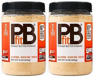 pb2 powder nutrition label