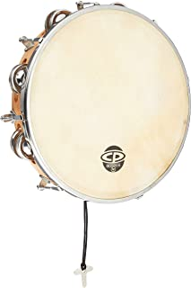"CP391 10 ""Tunable Tambourine، Wood"