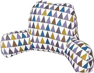 Almohadas de Respaldo para Cama con Brazos, Almohadas de Lectura para Sentarse en la Cama, Almohada de Silla, Suave y cómoda, extraíble y Lavable