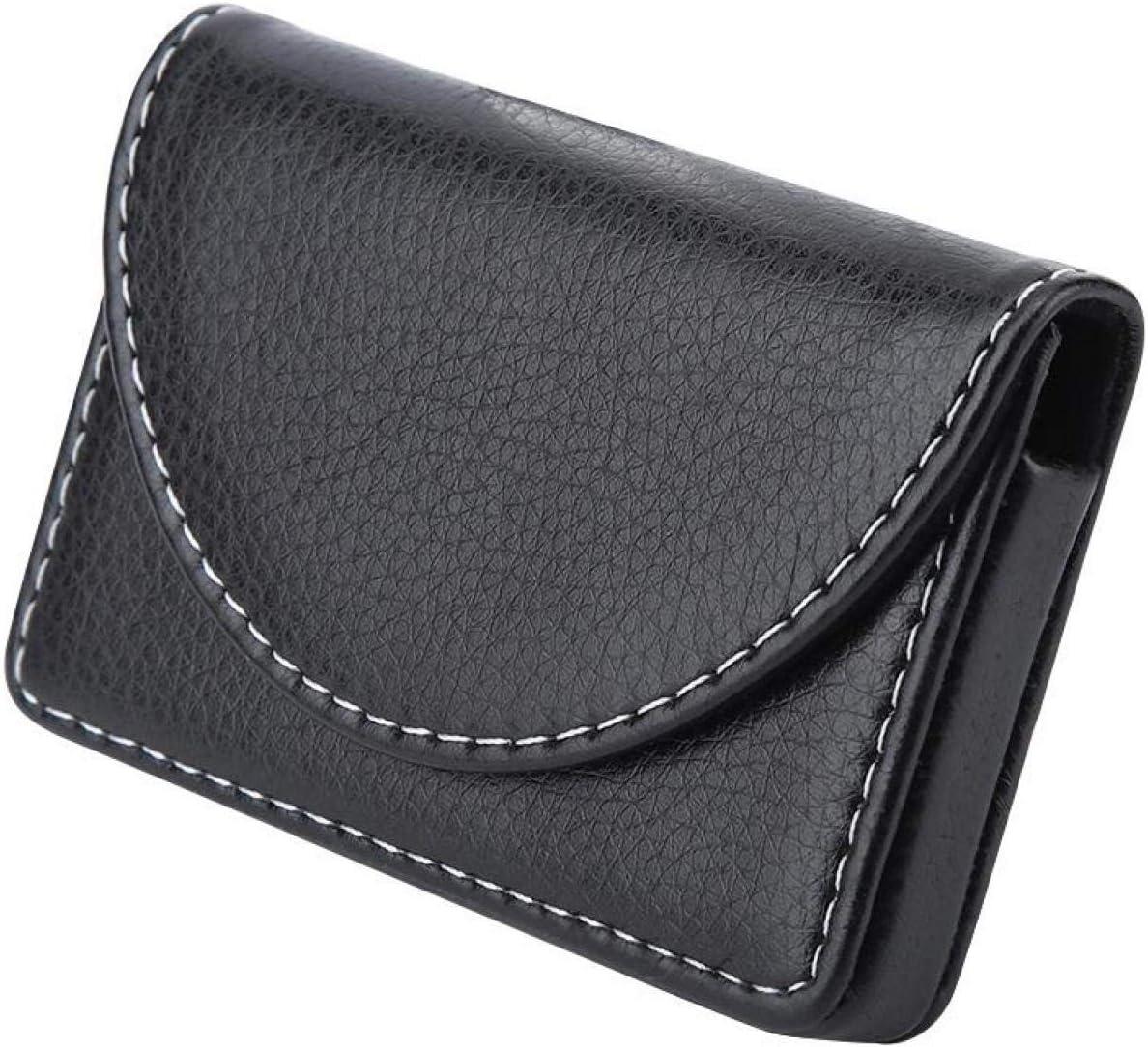 Practical Elegant Lightweight Credit Card Case 106.31.8cm 3.92.50.7in for Men Gift Black