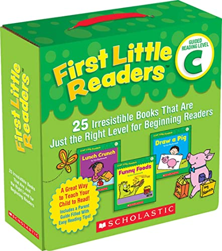 First Little Readers Parent Pack: Guided Reading Level C: 25 Irresistible Books That Are Just the Right Level for Beg...