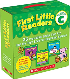 First Little Readers: Guided Reading Level C (Parent Pack): 25 Irresistible Books That Are Just the Right Level for Beginn...