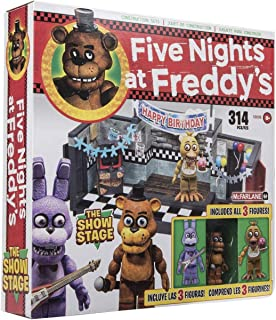 McFarlane Toys Five Nights at Freddys The Show Stage Construction Set