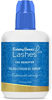 Existing Beauty Lashes GEL REMOVER For Professional Eyelash Extension Glue Removal Fast Action Dissolves Even The Strongest False Lash Adhesive In 60 Seconds 15 ml