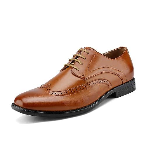 Light Brown Men's Dress Shoes: Amazon.com