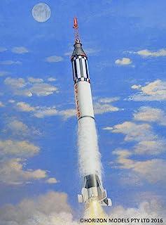 ホライズンモデル 1/72 アメリカ初の有人宇宙ロケット マーキュリー・レッドストーン プラスチックモデルキット HM2004