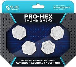 Sliq Gaming PS4 Pro-Hex Thumb Stick Grips – PlayStation 4 - White