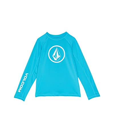 Volcom Kids Lido Solid Long Sleeve Rashguard (Toddler/Little Kids)