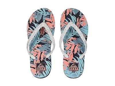 Reef Kids Stargazer Prints (Little Kid/Big Kid) (Sunset Palms) Girls Shoes