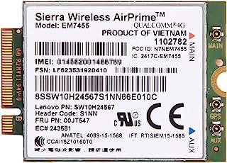 Lenovo純正 Sierra Wireless EM7455 Mobile Broadband LTE 4G ワイヤレスWAN WWANカード for Thinkpad X260, X1 Yoga, X1 Tablet, X1 Carbon(...