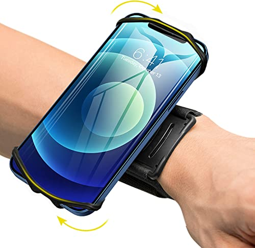 VUP Wristband Phone Holder, 360° Rotatable Forearm Armband for iPhone 12/12 Pro/12 Mini/SE 2020/11/11 Pro/Xs/XR/X/8/7...