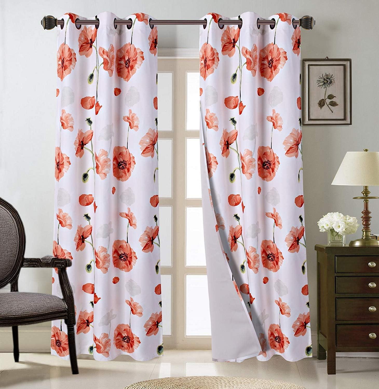 2 Grommet Curtain Panels 26