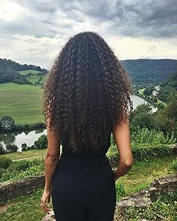 VeSunny 18inch Brazilian U Tip Fusion Hair Extensions Virgin Human Hair Natural Color Afro Kinkys Straight Hot Fusion Human Hair Extensions 1G/Strand 50G/Set