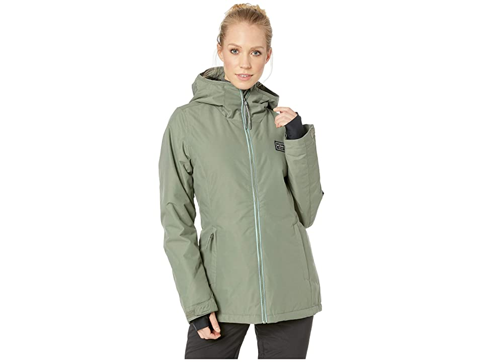 Billabong Sula Solid Insulated Jacket (Agave) Women