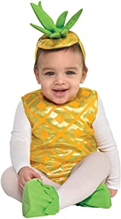 amscan Pineapple Baby Infant Costume 6-12 Months