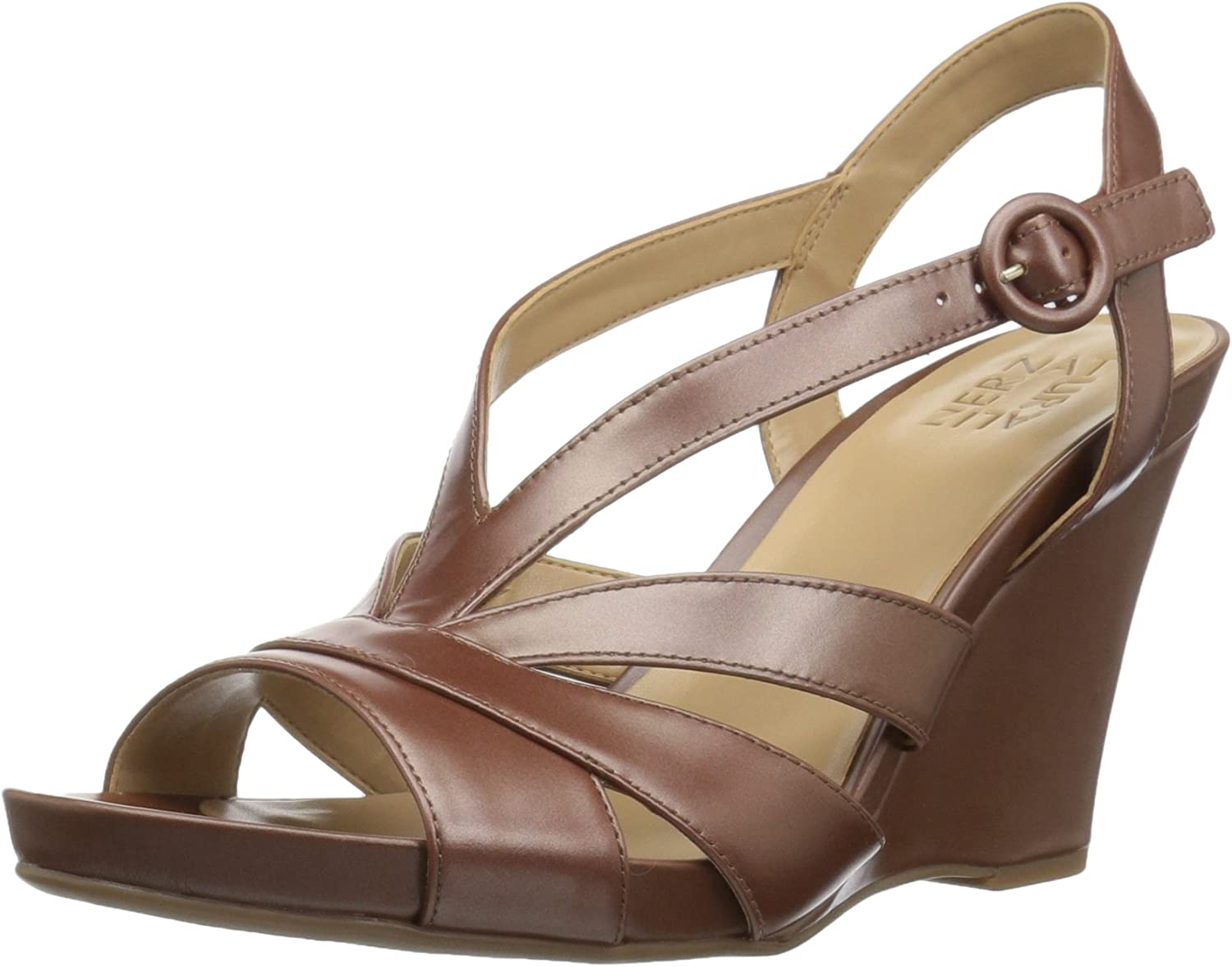 Naturalizer Womens Brandy Wedge Sandal