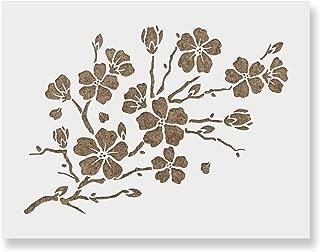 Best cherry blossom flower stencil Reviews