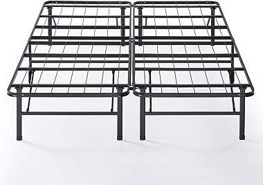 Sommier SmartBase déjà monté 35 cm ZINUS | Cadre de lit plateforme en métal | Facile à monter | Rangement sous le lit | 140 x
