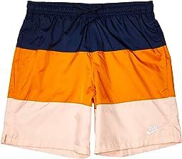 Midnight Navy/Magma Orange/White